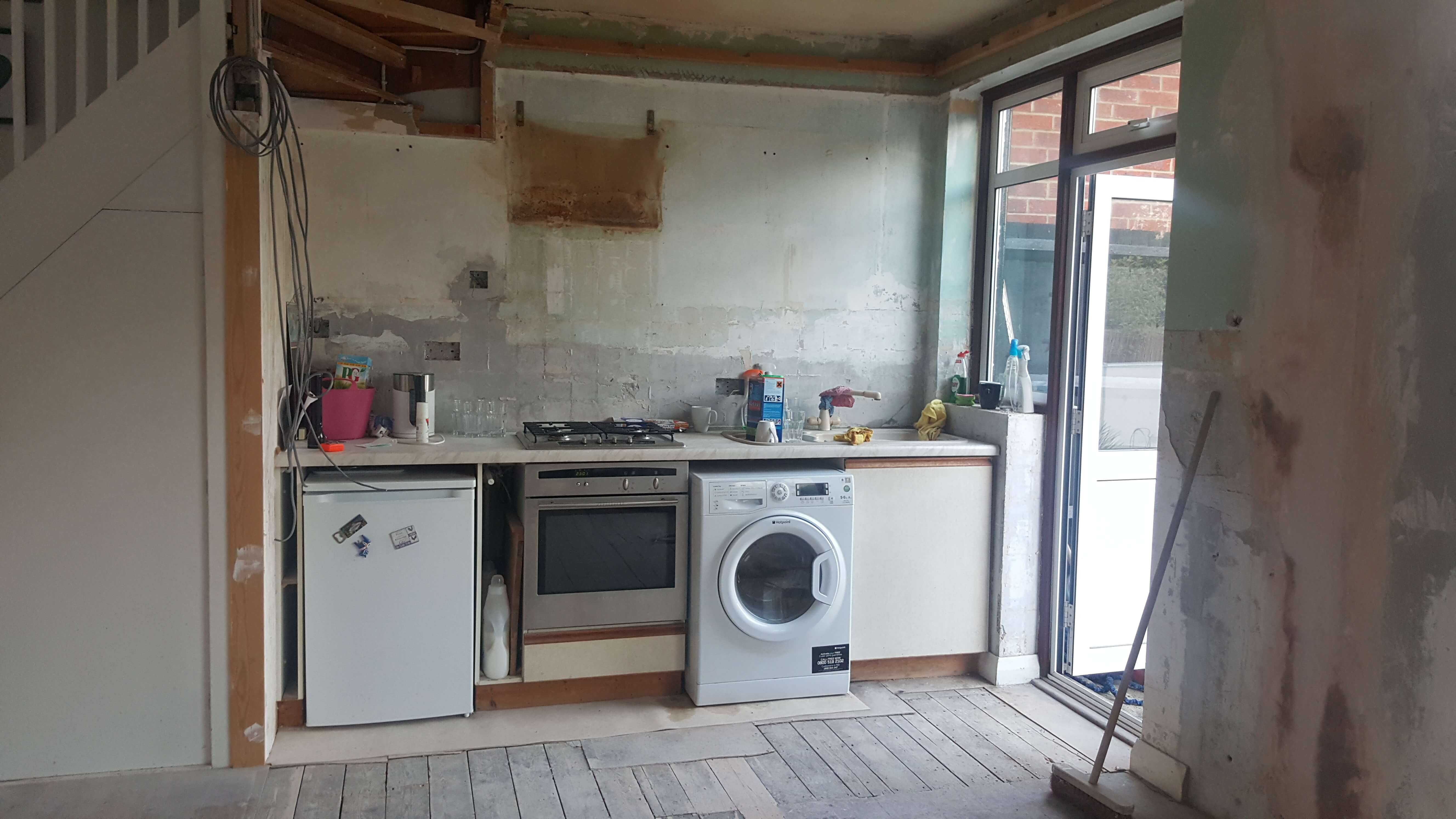 BEFORE Lucy's budget kitchen makeover - see the full before & after on www.lovetohome.co.uk