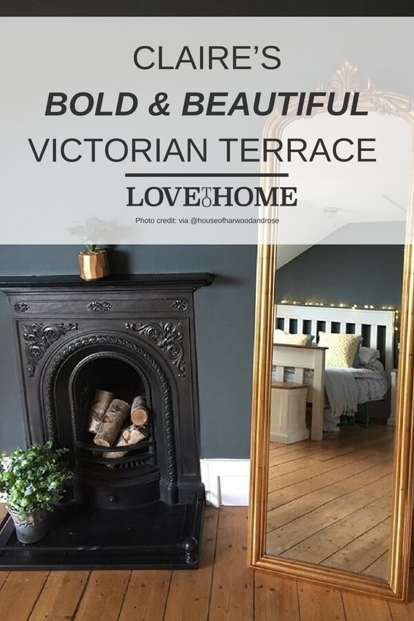 Step inside this bold, beautiful victorian terrace - here on www.lovetohome.co.uk (photo credit @houseofharwoodandrose)