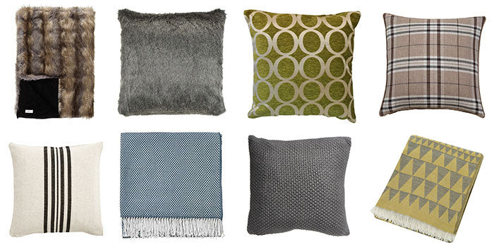 Focus on the soft furnishings for an easy way to decorate whilst renting
