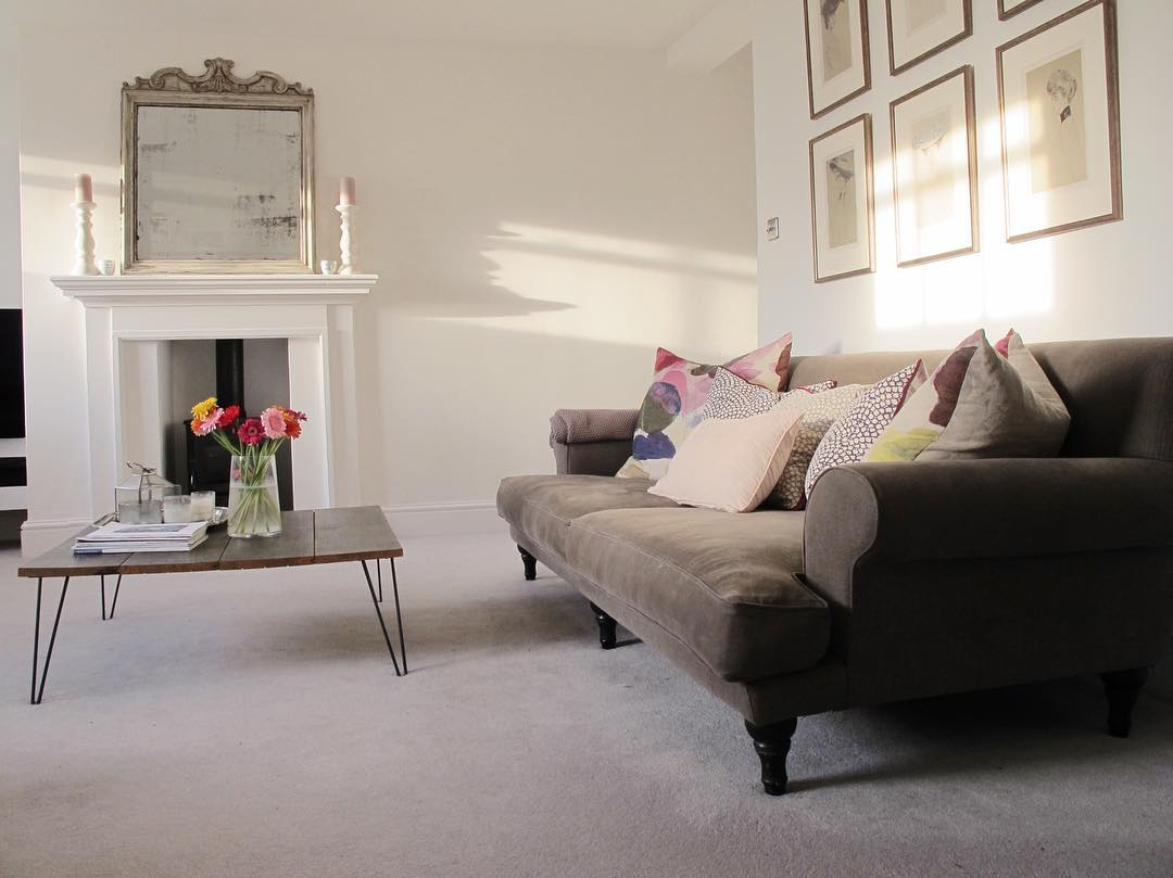 Look at the light in this georgian living room! www.lovetohome.co.uk