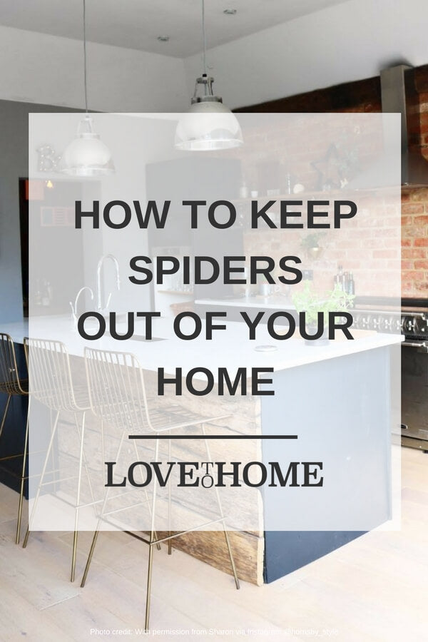 Are you looking for ways to keep spiders out of your home? You need to read this on www.lovetohome.co.uk (image credit @hornsby_style via Instagram).