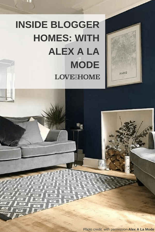 Inside Blogger Homes: with Alex a La Mode