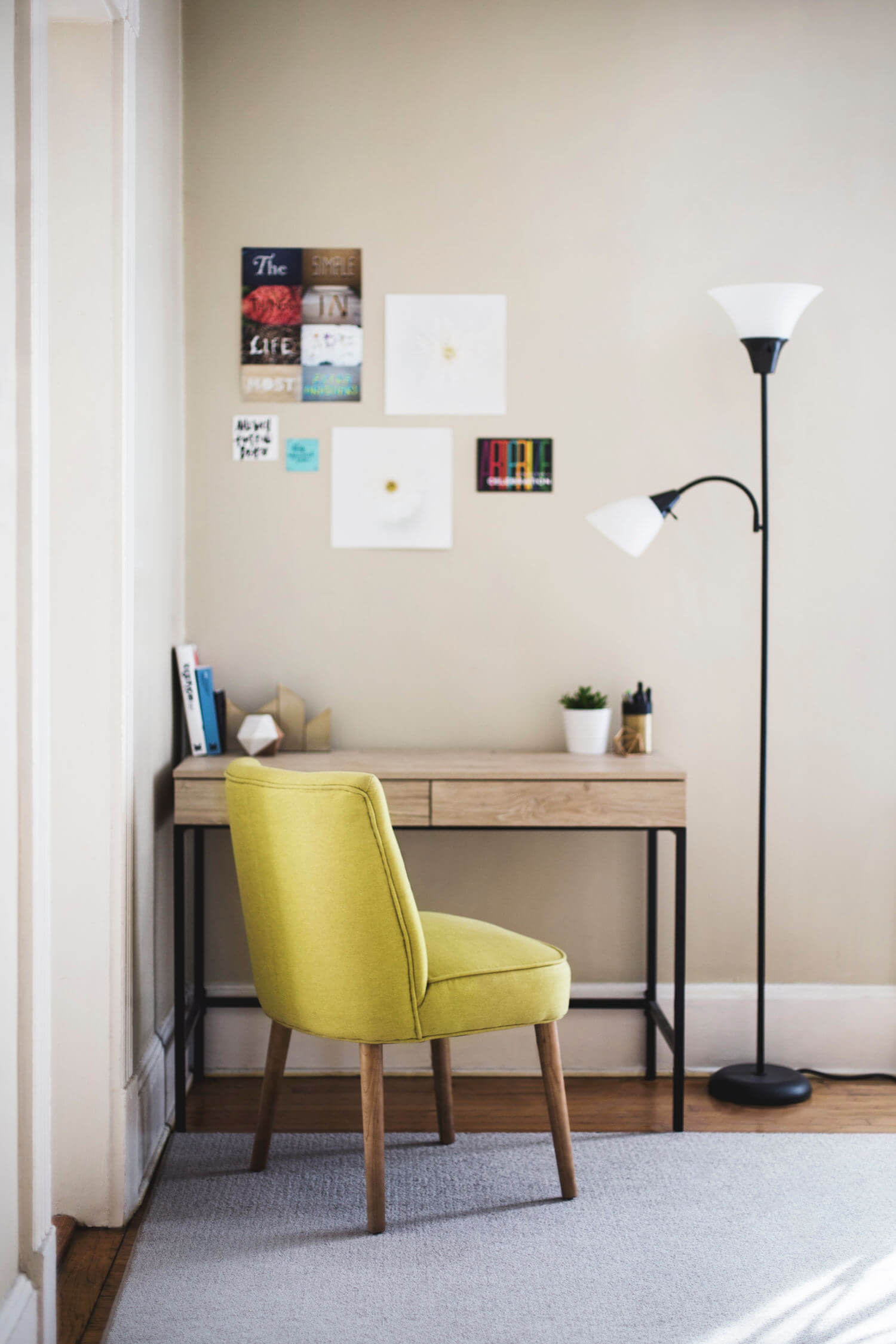 Here's how to prep a room for painting.