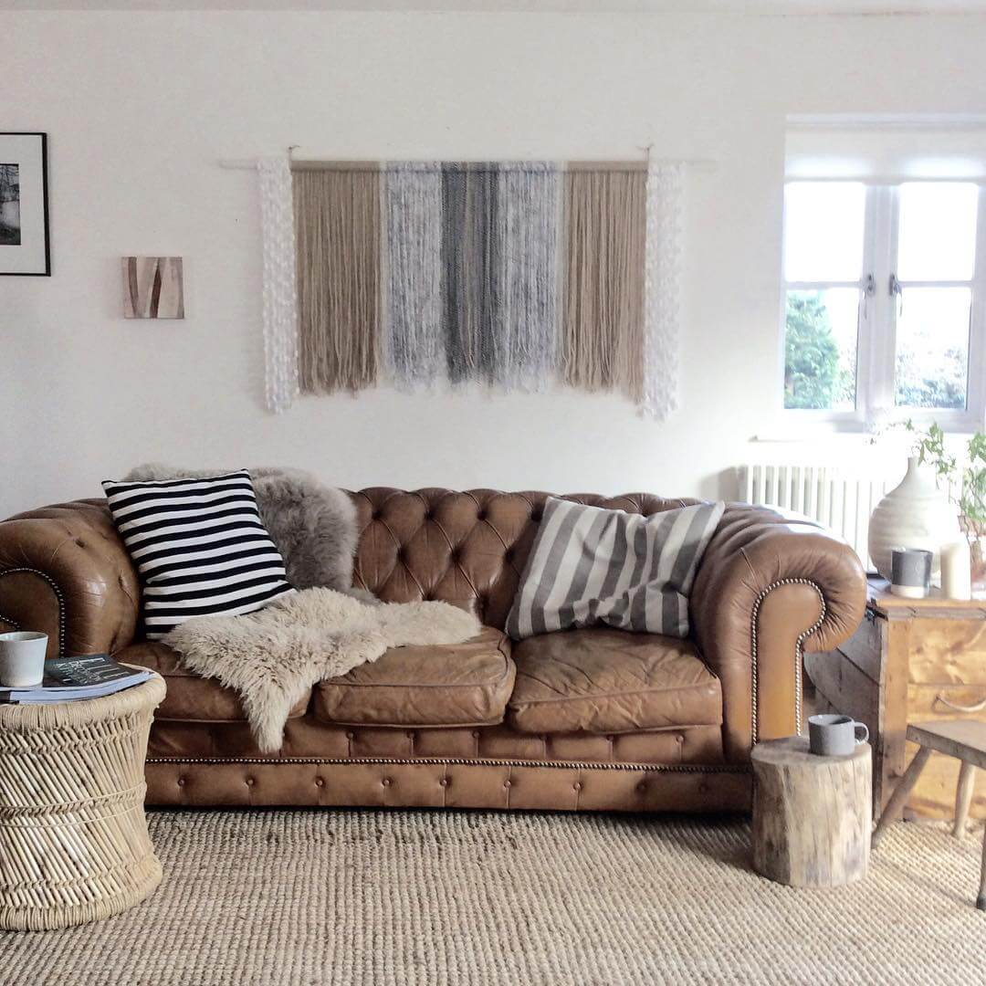 Ruth Webber's stylish sofa on www.lovetohome.co.uk