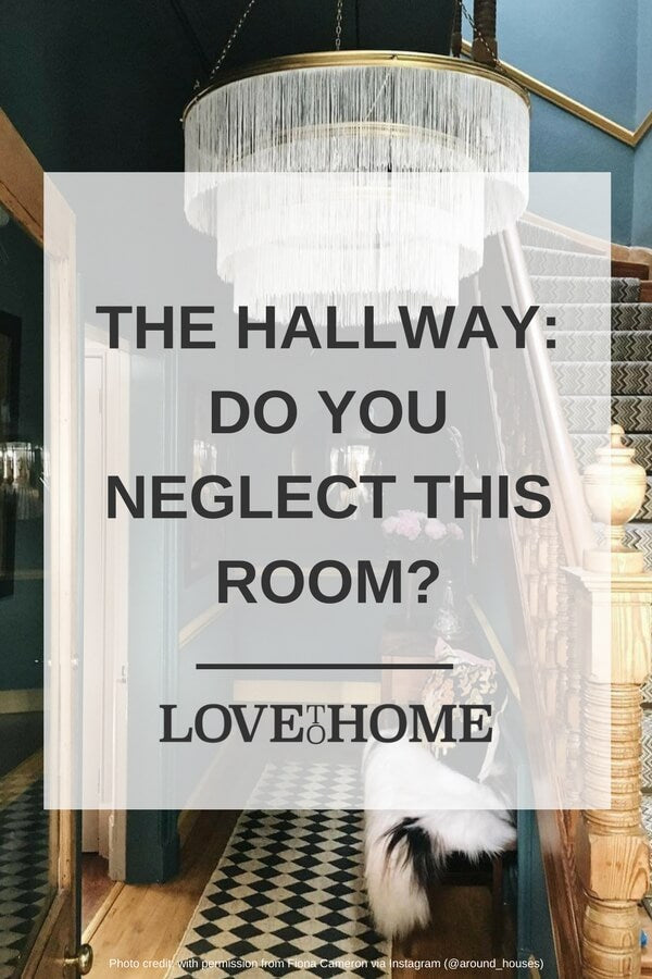Many of us neglect our hallways - but they're actually a very important room! Find out why (and how to improve yours) on www.lovetohome.co.uk