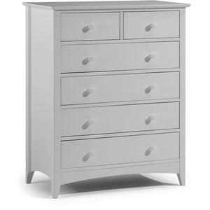 Cameo Grey 4+2 Drawer Chest