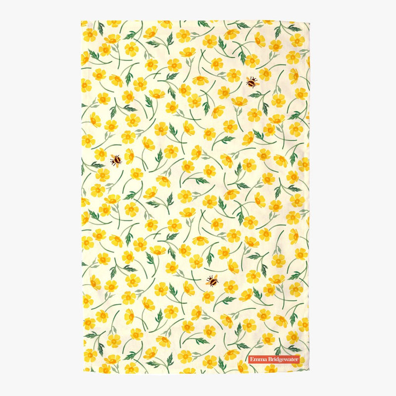 Buttercup & Bumblebee Tea Towel