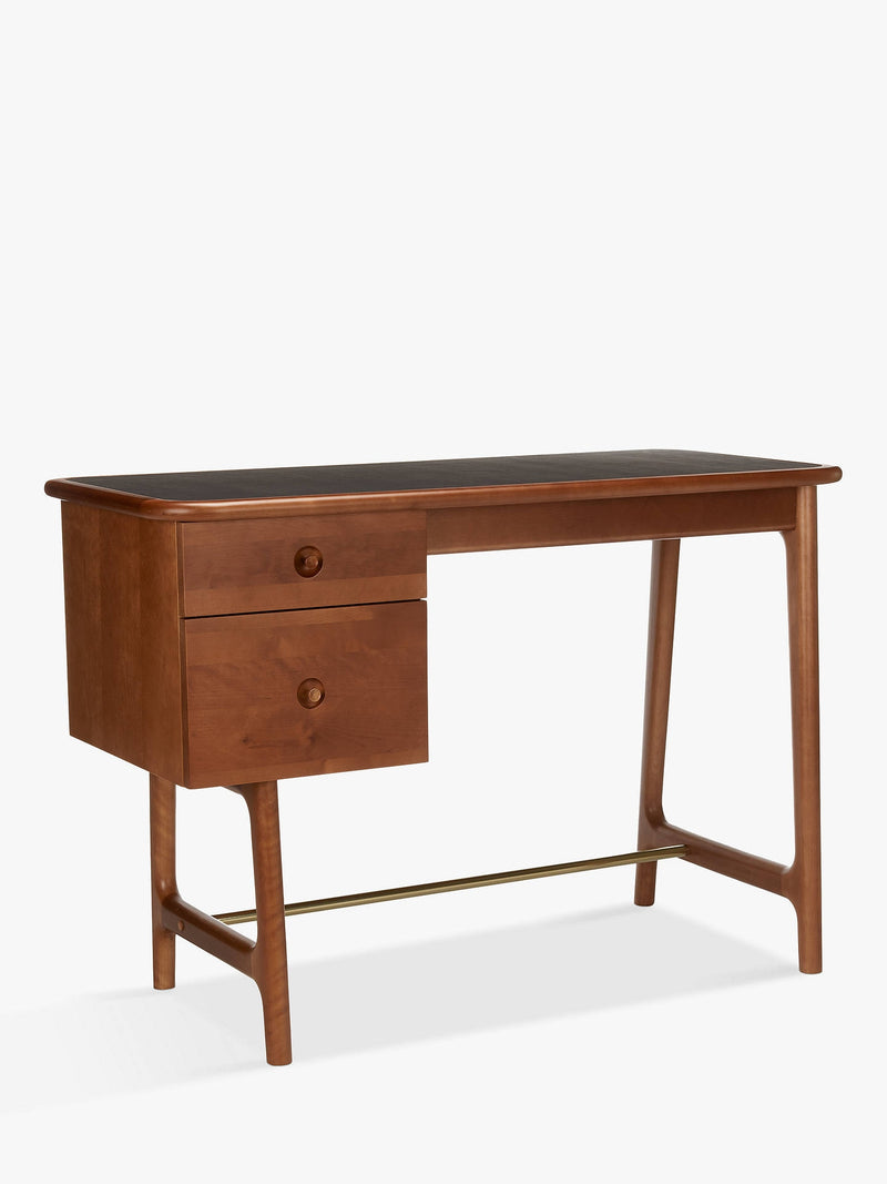 Soren Narrow Walnut Desk