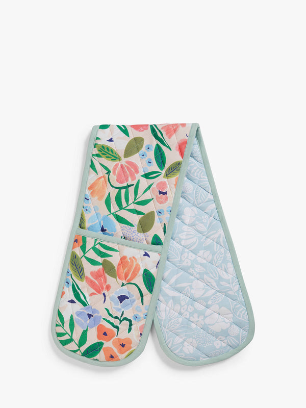 John Lewis & Partners Spring Double Oven Glove, Multi
