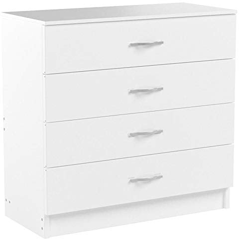 Vida Designs White Chest of Drawers