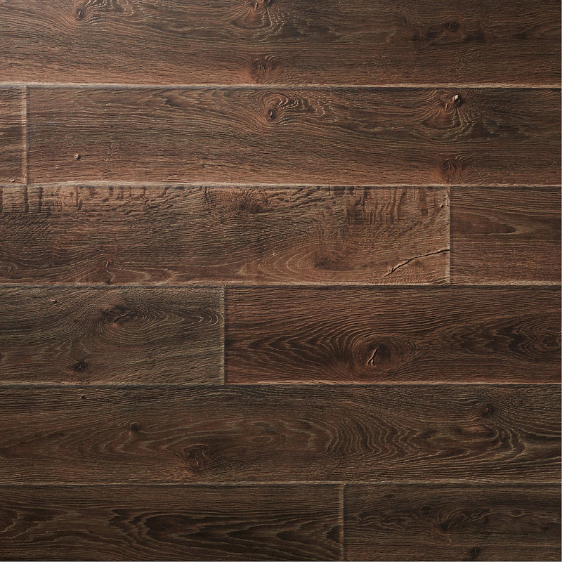 GoodHome Orford Grey Oak effect Laminate flooring
