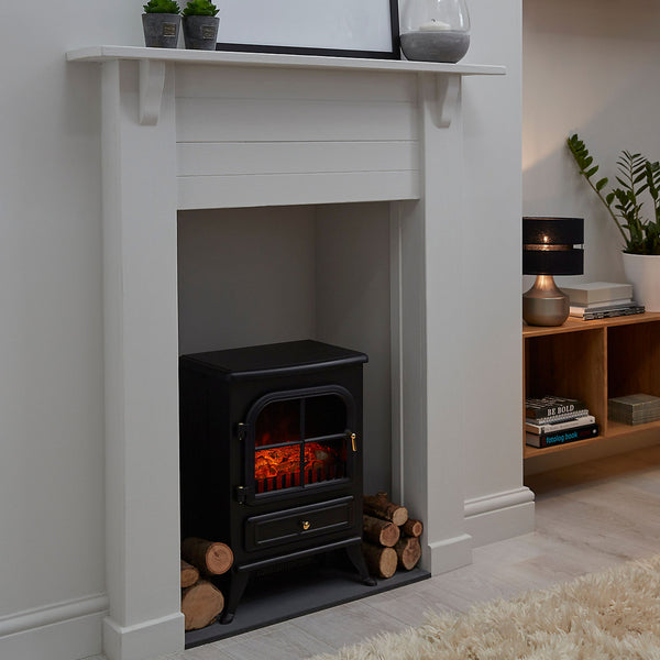 Akershus Black Electric Stove