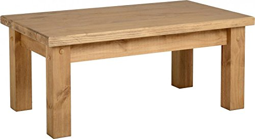 Seconique Tortilla Solid Pine Coffee Table