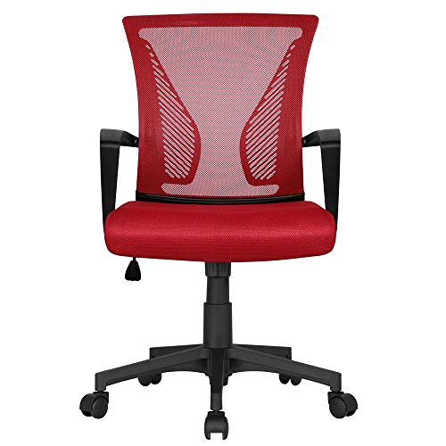 Yaheetech Ergonomic Fabric Mesh Office Chair