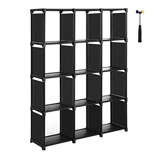 SONGMICS Cube Storage, 12-Cube Bookcase