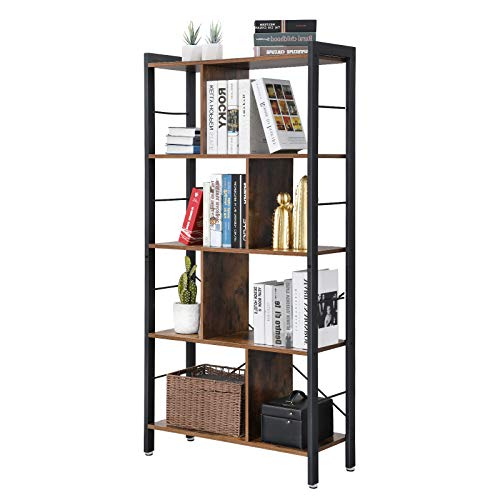 VASAGLE Industrial Bookcase