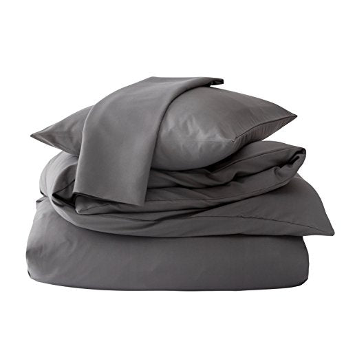Mohap Non-Iron Zippered Duvet Cover Set