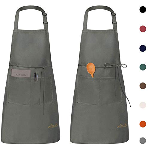 Viedouce 2 Packs Apron Cooking Kitchen