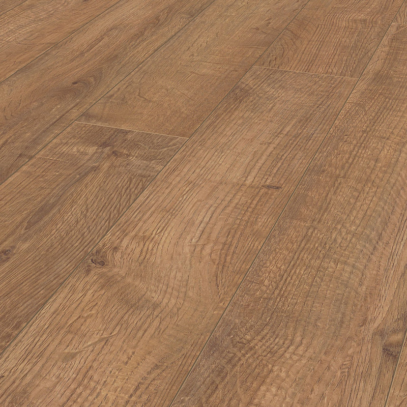 Rostock Natural Oak effect Laminate flooring