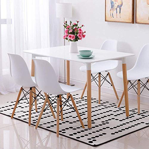 Wood Style Dining Table and 4 Chairs