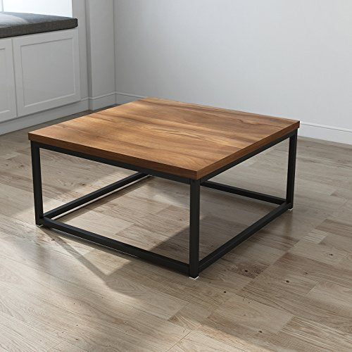 Cherry Tree Furniture CLIVE Mid-Century Style Walnut Colour Coffee