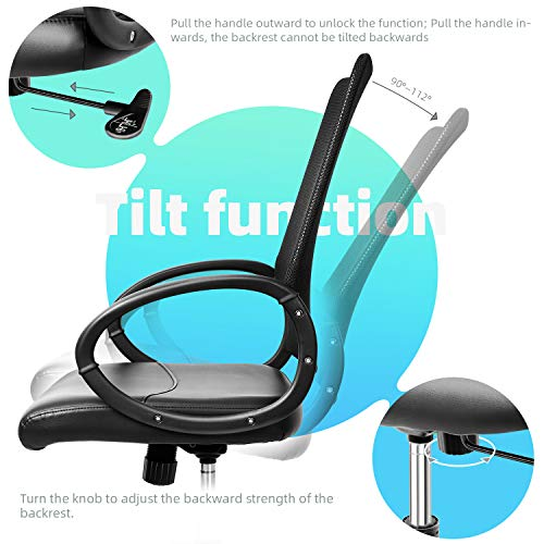 INTEY Ergonomic Office Chair Swivel Desk Chair