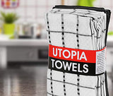 Utopia Towels - 12 Kitchen Towels Set - 38 x 64 cm
