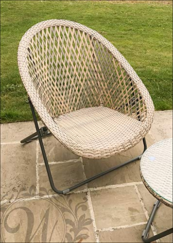 Faux Rattan Lounge Furniture Set