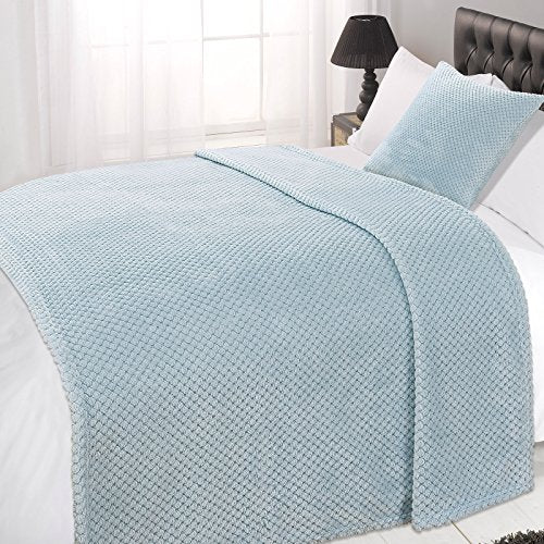 Dreamscene Waffle Soft Mink Warm Throw