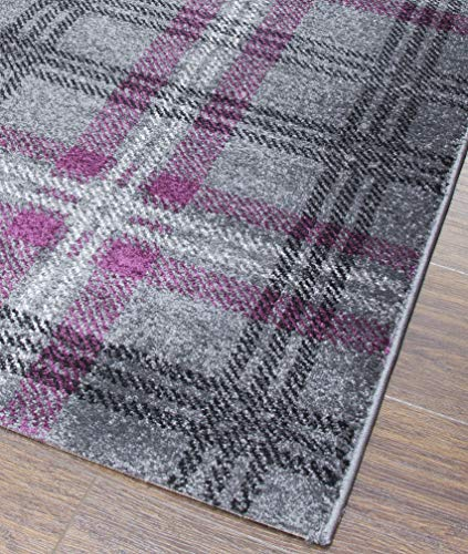 SrS Rugs® Glendale Classic Collection Tartan Rug