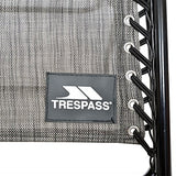 Trespass Glenesk, Grey Marl, Reclining Garden Chair