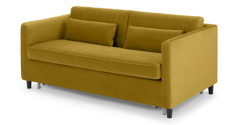 Barrow Sofa Bed, Vintage Gold Velvet