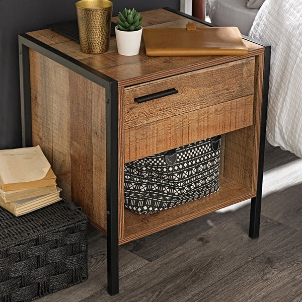 Amya 1 Drawer Bedside Table