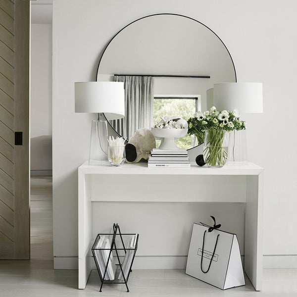 Chiltern Thin Metal Round Mirror