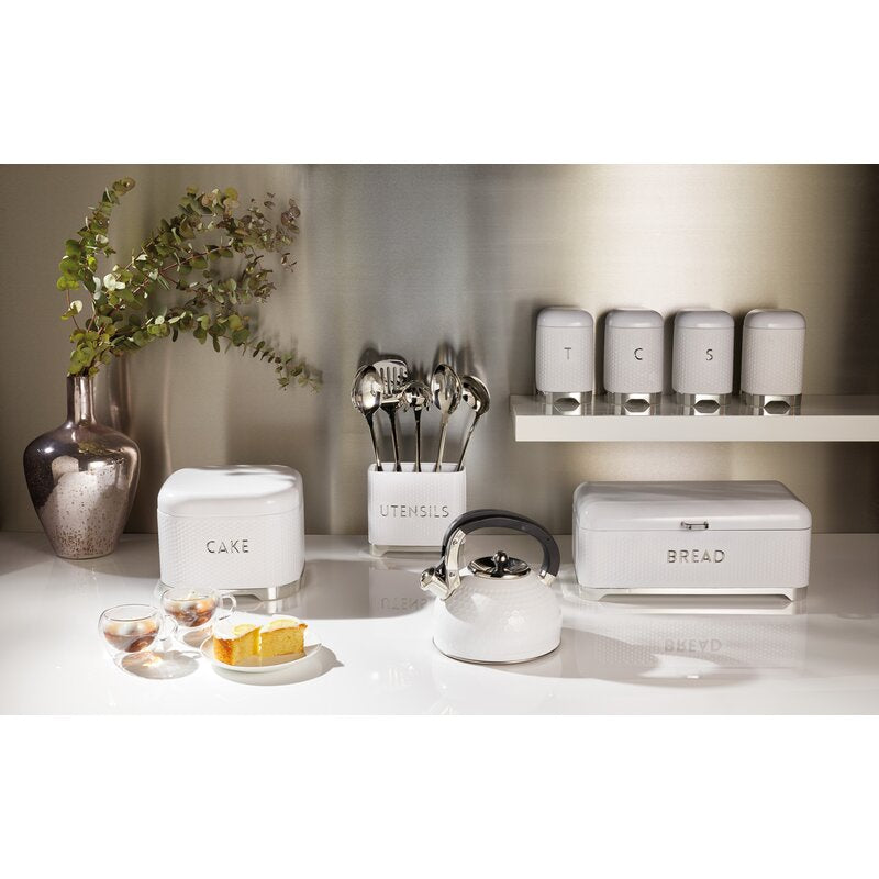 Lovello 3 Piece Coffee, Tea, & Sugar Jar Set