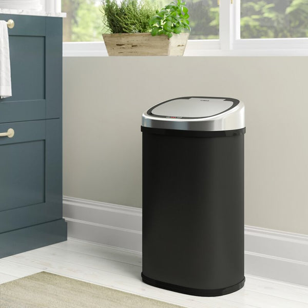 Stainless Steel 58 Litre Motion Sensor Rubbish Bin