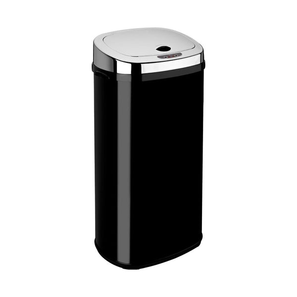 Steel 42 Litre Motion Sensor Rubbish Bin