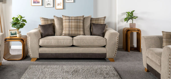 Tucsin 3 Seater Sofa Scatter Back - ScS