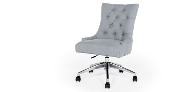 Flynn Office Chair, Persian Grey
