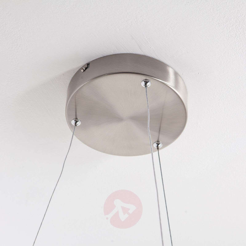 Lovisa LED hanging light with two LED rings