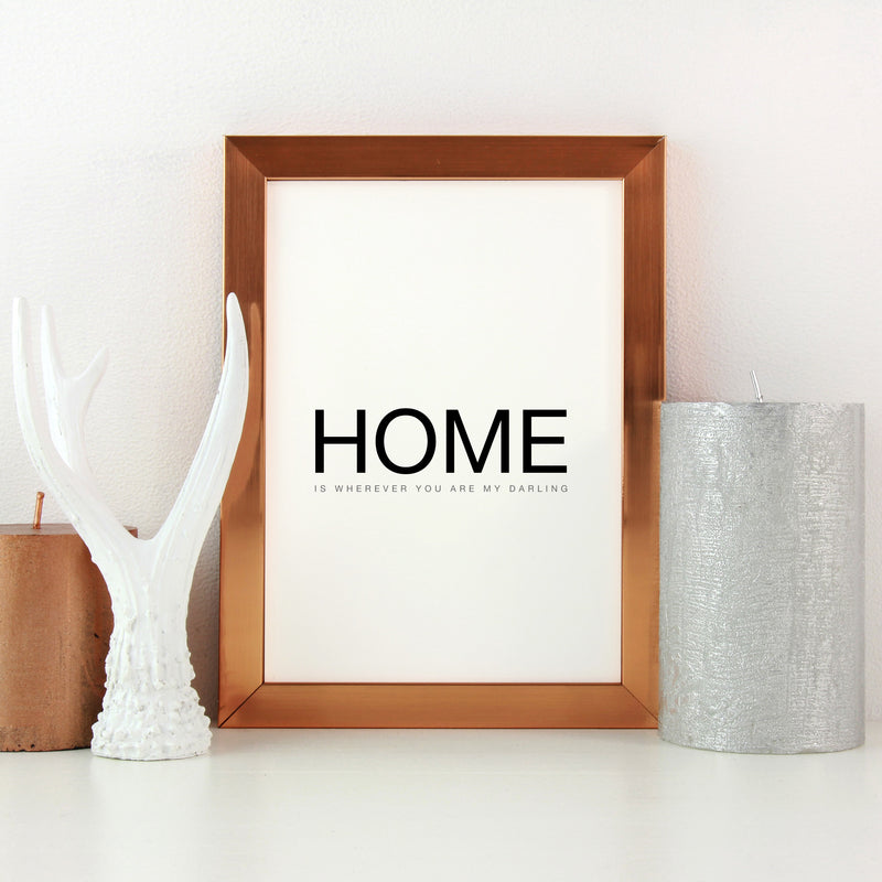 Home is where Print by Love to Home