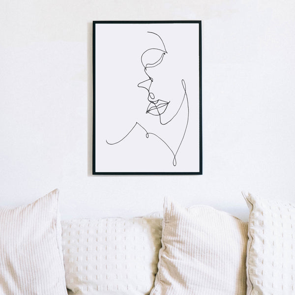 Single Line Drawing by Love to Home