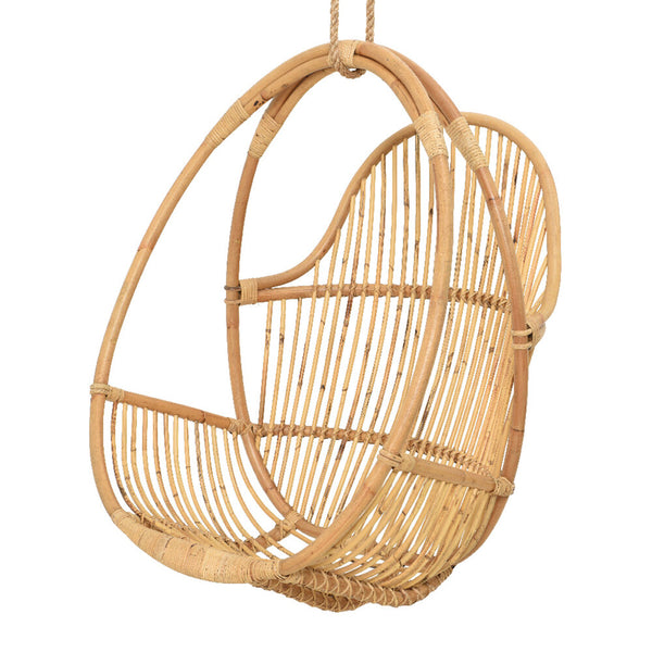 Outdoor Rattan Hanging Chair - Natural