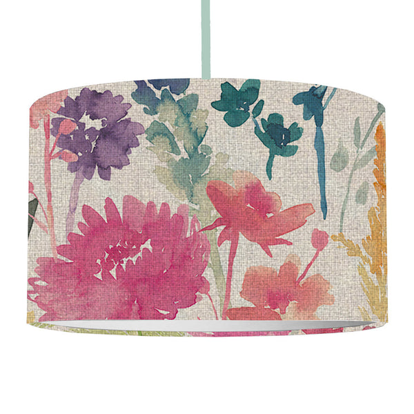 Bluebellgray Peggy Linen Ceiling Lamp Shade - Large