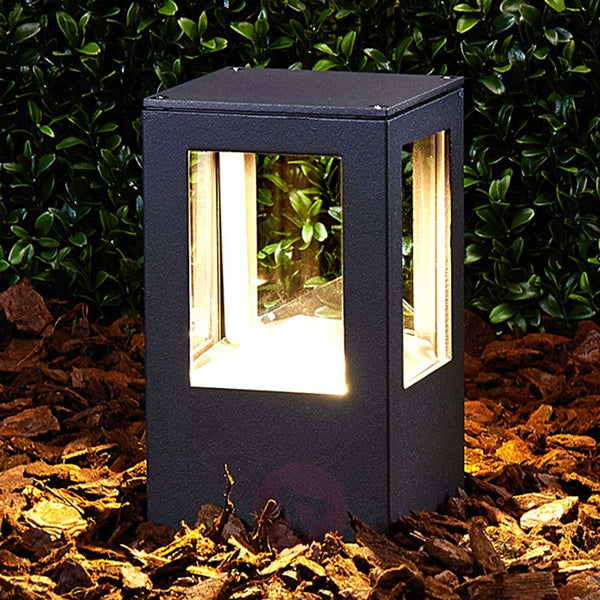 Rectangular Nicola LED pillar light, IP54