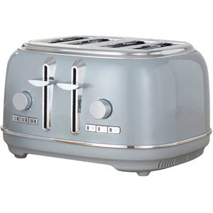 Retro Four Slice Toaster