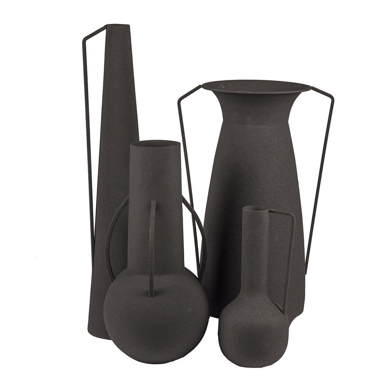 Pols Potten Roman Vases - Set of 4 - Black