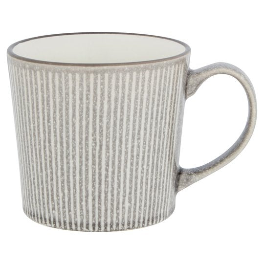 Fox & Ivy Nero Large Mug Grey