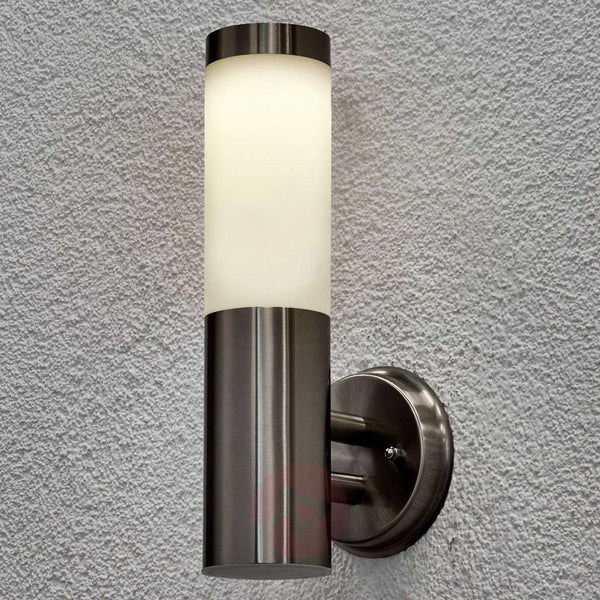 Solar outdoor wall lamp Jolla with LED