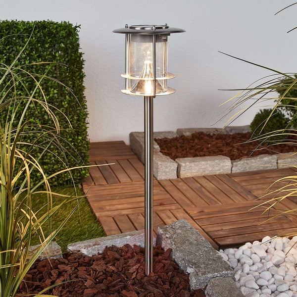 Sumaya stainless steel LED solar lamp